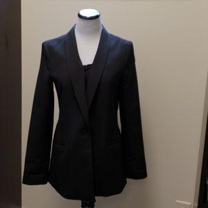 Banana Republic long black blazer